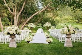 Fall Wedding Aisle Decorations - wedding decoration ideas outdoor fall wedding decorations ideas