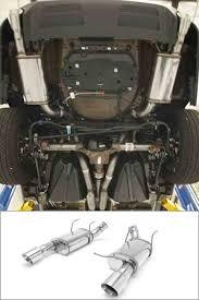 mustang exhaust 2011 2012 mustang gt 5 0l magnaflow axle back exhaust 15593