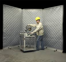 Noise Insulating Curtains Industrial Soundproofing Curtains U0026 Noise Cancelling Barriers