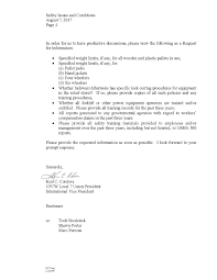 Letter For Vacation Request Ufcw Local 7 The Official Website For The United Food And