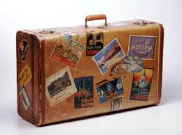 Suitcases Of Suitcases And Clothes A Writer U0027s World