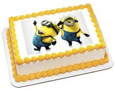 edible minions despicable me edible image cake decoration birthday