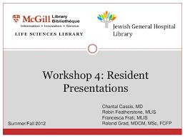 resident presentations evidence based medicine for haematology