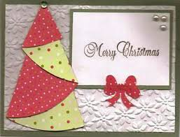 bright origami christmas tree card template and instuctions provided