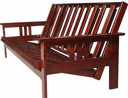 solid wood futon frame bedroom buy futon frame with wooden futon