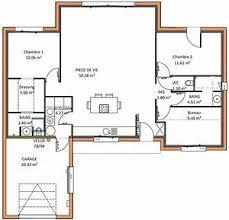plan maison 6 chambres plain pied plan maison plain pied 2 chambres plans de maisons plan maison 6