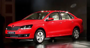 skoda rapid facelift gets fabia headlights 1 5 tdi in india
