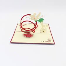 3d laser cut handmade magic paper invitation