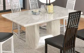 white marble top dining table set marble top dining table set amazing great jen joes within 16