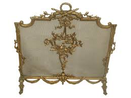 antique brass fireplace screen fireplace ideas