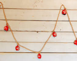 Christmas Decorations Outdoor Nz by Decorative Bells Etsy Nz
