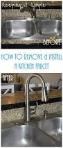 Moen Kitchen Faucet Removal Instructions by Best 25 Kitchen Faucet Repair Ideas On Pinterest Leaky Faucet
