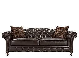 Greccio Leather Sofa Brown Leather Sofa
