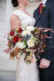 fall wedding fantastic fall wedding bouquet of navy burgundy ivory