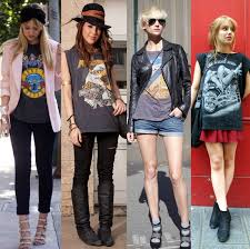 how to wear a concert tee google search fashion ideas