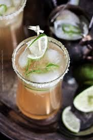 session ipa beergarita with hop salt rim and jalapeno u0026 lime ice