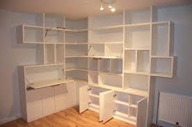 Corner Wall Bookcase L Shaped Bookcase Furniture White L Shaped Corner Wall Bookcase