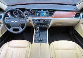 2015 Hyundai Genesis Interior 2015 Hyundai Genesis Rwd Sedan U2013 Stu U0027s Reviews
