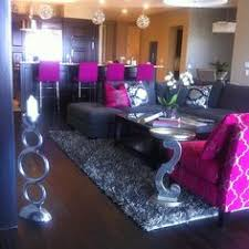 Living Room Decor Ideas Glamorous Chic In Grey And Pink Color - Pink living room set