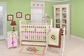 Pink And Green Nursery Decor Baby Nursery Charming Light Pink Green Baby Room Decoration Using
