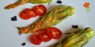fiori di zucca in forno fiori di zucca ripieni ricetta vegetariana al forno greenme