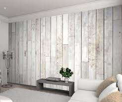 1wall white wash wood panel picture photo wallpaper mural 3 15m x