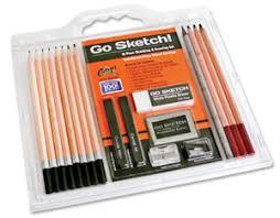 go sketch sketching u0026 drawing set