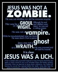 Zombie Jesus Meme - 25 best memes about jesus was a lich jesus was a lich memes