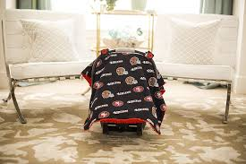 49ers Crib Bedding Nfl San Francisco 49ers The Whole Caboodle 5pc Set