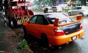 orange subaru wrx spotted black subaru wrx sti edit crashed and now fixed