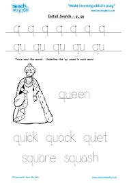 initial sounds q qu tmk education