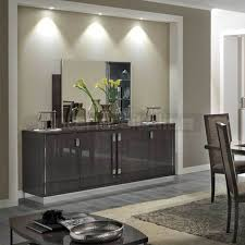 Slim Sideboards Modern Italian Sideboards Platinum Italian Furniture