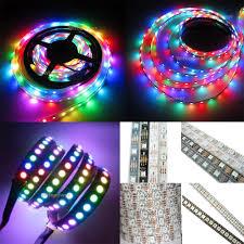 black light led strip ws2812b 5050 rgb led strip 5m 150 300 leds 144 60led m individual