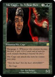 Magic Card Meme - card azn badger s blog