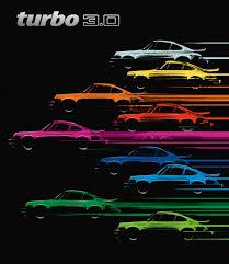 porsche turbo poster parabolica press u2014 porsche carrera 2 7 u0026 turbo 3 0 books