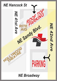 Portland Parking Map by Portland Urgent Care Contact Us