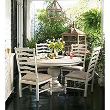 paula deen kitchen furniture paula deen home pedestal table in linen tables