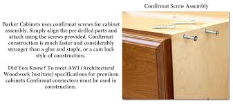 barker cabinet specifications