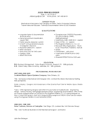 Sample Training Resume by Cad Designer Resume Resume For Your Job Application