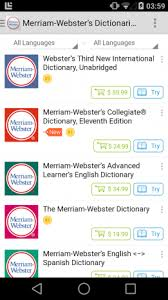meriam webster dictionary apk merriam webster s dictionaries 4 6 42 57 apk for android
