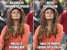 Hippie Chick Meme - liberal college girl the best of