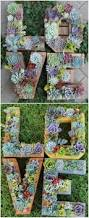 Monogram Planter 30 Captivating Backyard Succulent Gardens You Can Easily Diy