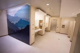 restroom mosaics airport foundation