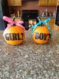 baby gender reveal idea my husband thought of it i just added