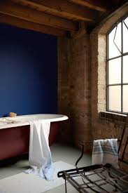 Industrial Style Bathroom Give An Industrial Style Bathroom A Hit Of Bold Colour With A