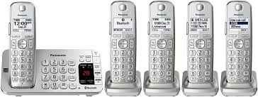 amazon black friday slickdeals panasonic kx tge475s cordless bluetooth phone w 5 handsets