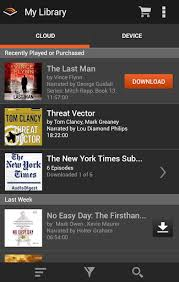 audible for android audible for android updated the digital reader