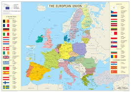 Countries Of The World Map by Maps Of Europe And European Countries Political Maps