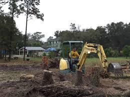 land clearing tree monkeys inc