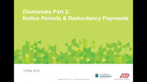 Fair Work Termination Notice by Adp Webinar Dismissal Notice Redundancy Payments U0026 Tax